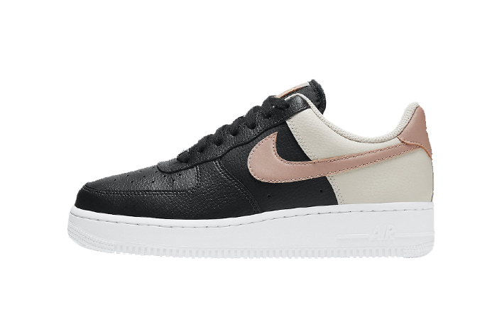 Nike Air Force 1 07 Black Mauve Pink CU5311-001 01