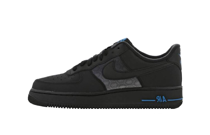 Nike Air Force 1 07 LV8 Black Dark Blue DC9558-001 01