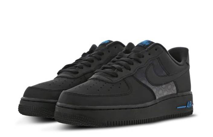 Nike Air Force 1 07 LV8 Black Dark Blue DC9558-001 02
