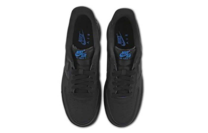 Nike Air Force 1 07 LV8 Black Dark Blue DC9558-001 03