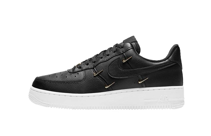 Nike Air Force 1 07 LX Black Metallic Gold CT1990-001 01