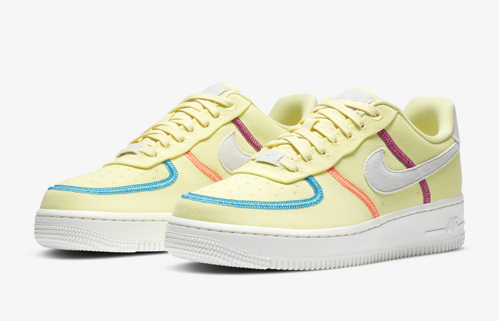 Nike Air Force 1 LX Light Lime CK6572-700 02