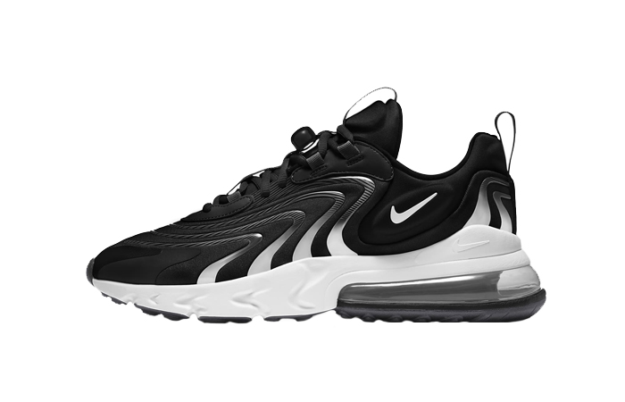 Nike Air Max 270 React ENG Black White CT1281-001 01
