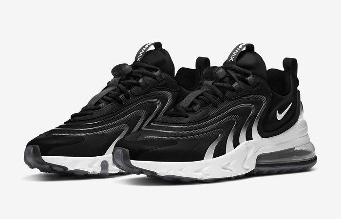 Nike Air Max 270 React ENG Black White CT1281-001 02