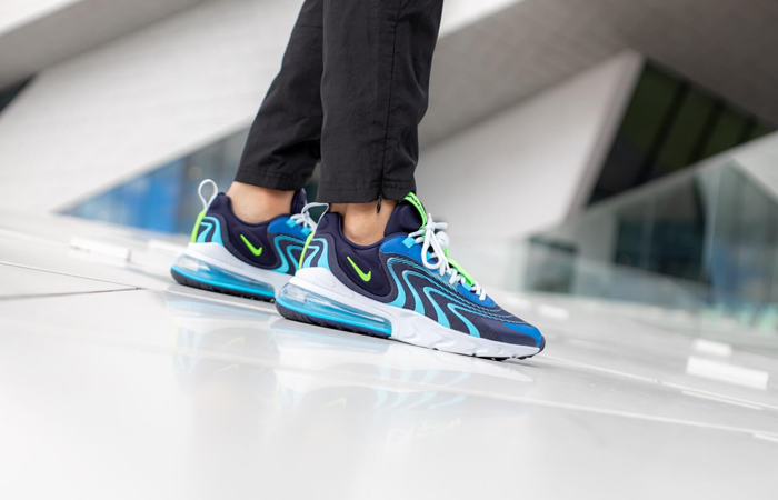 Nike Air Max 270 React ENG Team Royal Is Less Than £87 At Nike UK! ft