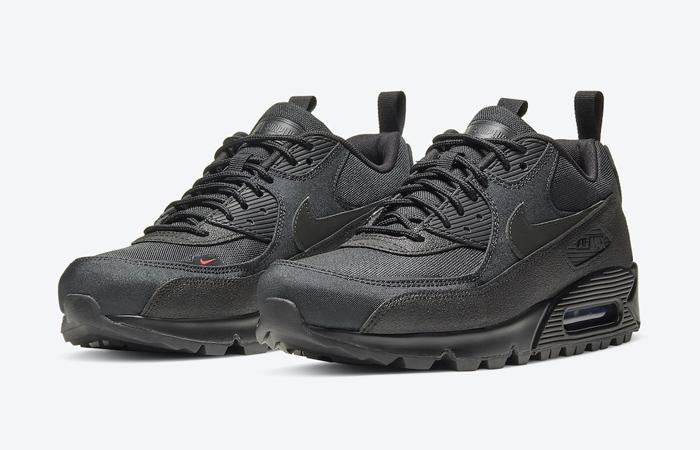 Nike Air Max 90 Black Infrared CQ7743-001 02