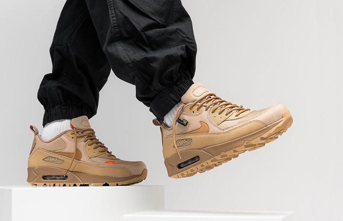 Nike Air Max 90 Surplus Desert Sand CQ7743-200 on foot 01