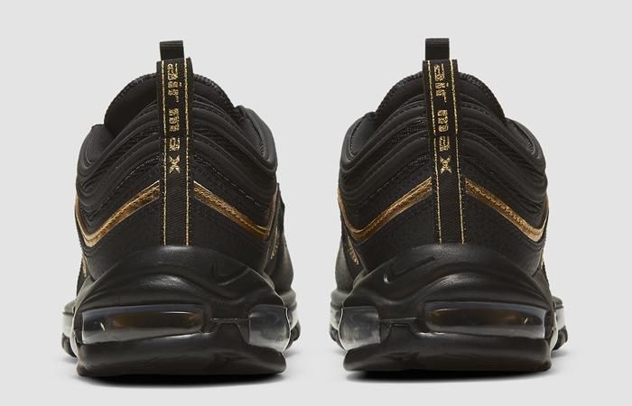 Nike Air Max 97 Black Metallic Gold DC2190-001 05