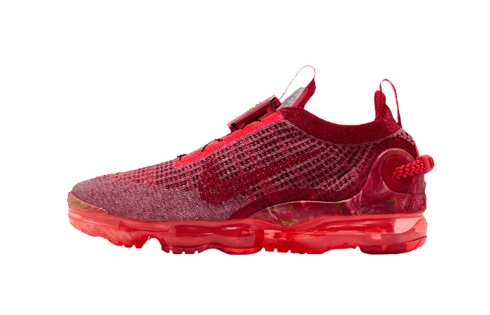 Nike Air Vapormax 2020 Flyknit Team Red CT1823-600 01