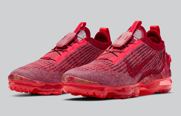 Nike Air Vapormax 2020 Flyknit Team Red CT1823-600 03