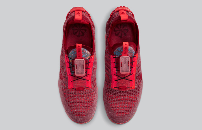 Nike Air Vapormax 2020 Flyknit Team Red CT1823-600 05