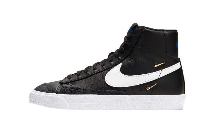 Nike Blazer Mid '77 Black Leather CZ4627-001 01