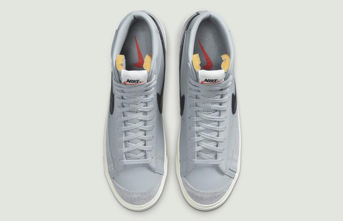 Nike Blazer Mid 77 Vintage Grey Black BQ6806-001 04