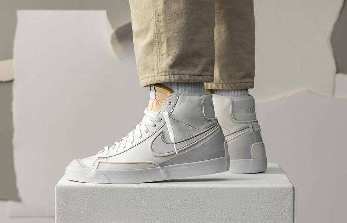 Nike Blazer Mid Vintage 77 DMSX Summit White DA7233-101 on foot 01
