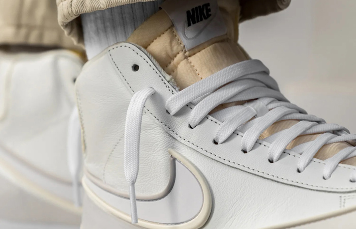 Nike Blazer Mid Vintage 77 DMSX Summit White DA7233-101 on foot 02