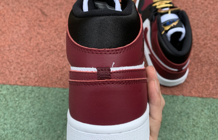 Nike Jordan 1 Mid Maroon Black CZ4385-016 04