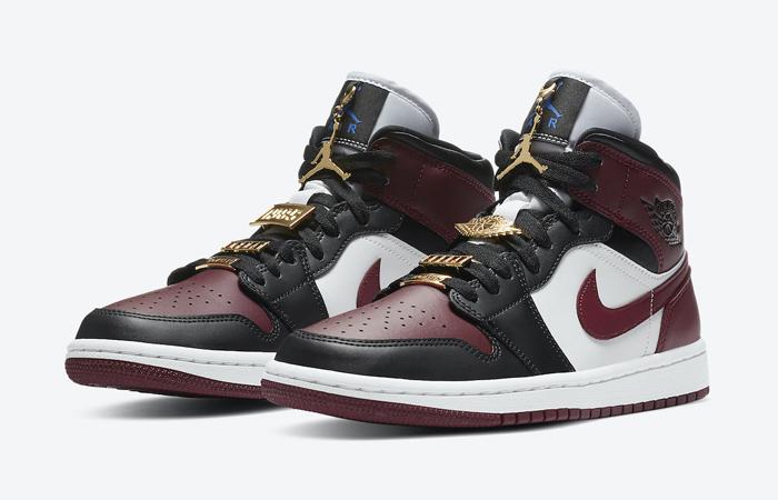 Nike Jordan 1 Mid Maroon Black CZ4385-016 05