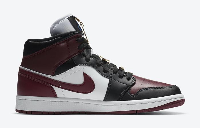 Nike Jordan 1 Mid Maroon Black CZ4385-016 06