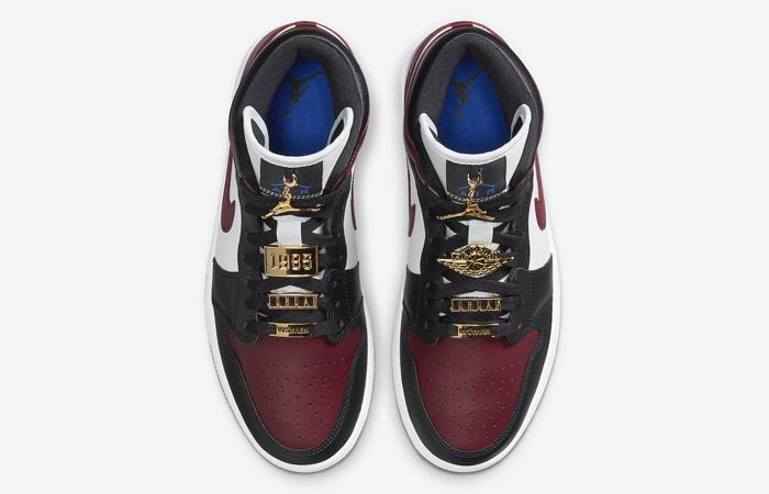 Nike Jordan 1 Mid Maroon Black CZ4385-016 07