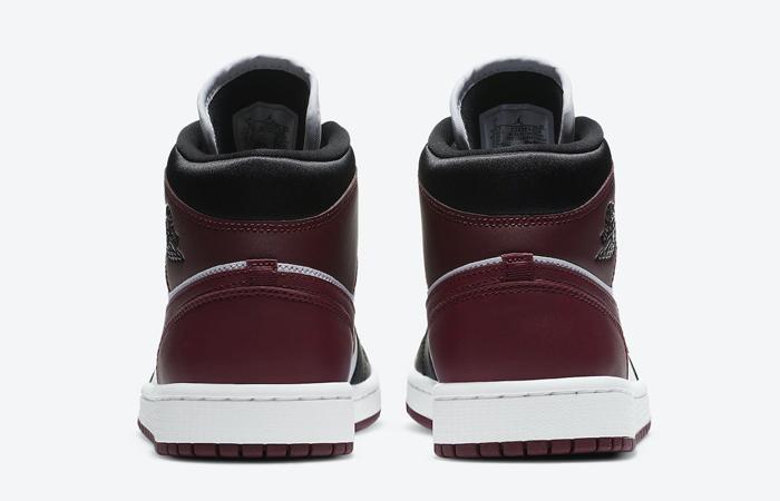 Nike Jordan 1 Mid Maroon Black CZ4385-016 08