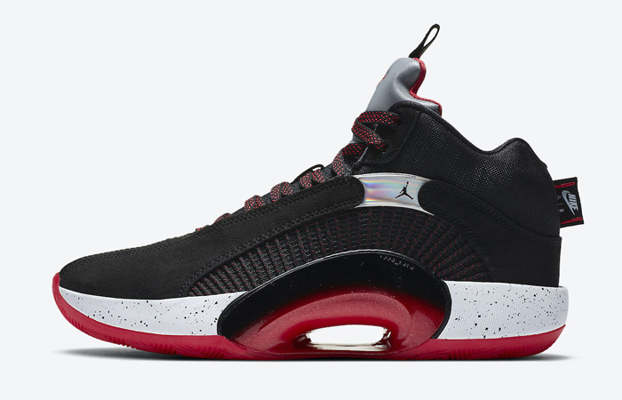 Now 'Bred' Colourway Can Be Seen In The Upcoming Air Jordan 35 f