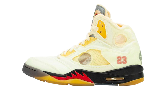 Off-White Air Jordan 5 Sail Cream DH8565-100 01