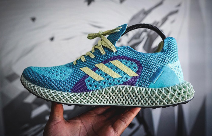 Official Look At The adidas ZX Runner 4D Light Aqua f