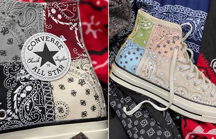 "Offspring and Converse Join Hands For Chuck 70 ""Paisley"" Pack f"