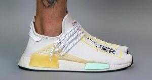 On-Feet Photos of the Asia Exclusive Pharrell adidas NMD Hu Cream 01