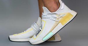 On-Feet Photos of the Asia Exclusive Pharrell adidas NMD Hu Cream