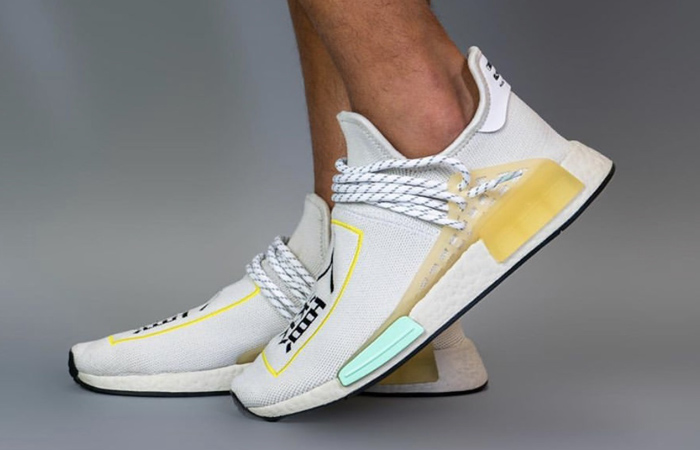 On-Feet Photos of the Asia Exclusive Pharrell adidas NMD Hu Cream f