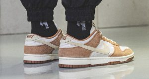 On Foot Images Of Nike Dunk Low PRM Medium Curry 03