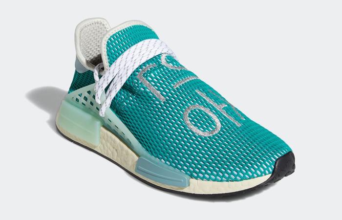 Pharrell adidas NMD Hu Teal Q46466 02