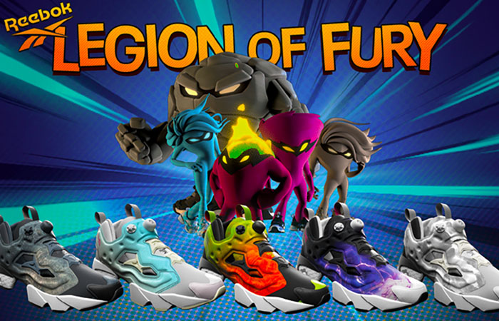 "Reebok Introducing Their ""Legion of Fury"" Collection f"