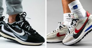 Sacai Nike Vaporwaffle Pack Coming In Both Black And White Colourways