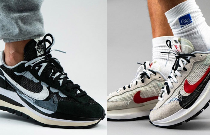 Sacai Nike Vaporwaffle Pack Coming In Both Black And White Colourways f