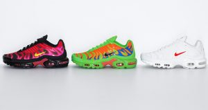 Supreme Nike Air Max Plus Collection Dropping This Week