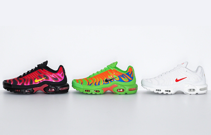 Supreme Nike Air Max Plus Collection Dropping This Week f