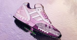 The Beauty Of adidas ZX 7000 Heytea Clear Lilac Is So Fascinating 02