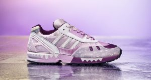 The Beauty Of adidas ZX 7000 Heytea Clear Lilac Is So Fascinating