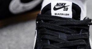 Wacko Maria Nike SB Blazer Low Comes With Snakeskin Swooshes 02
