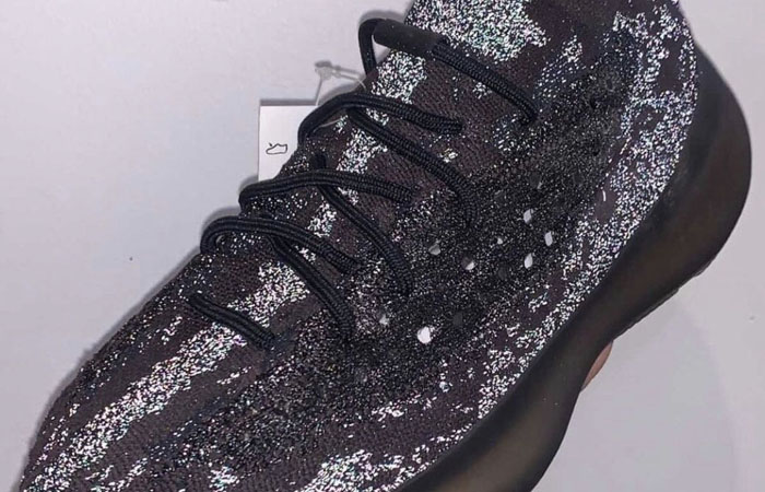 Your Very First Look At The adidas Yeezy Boost 380 Onyx Reflective f