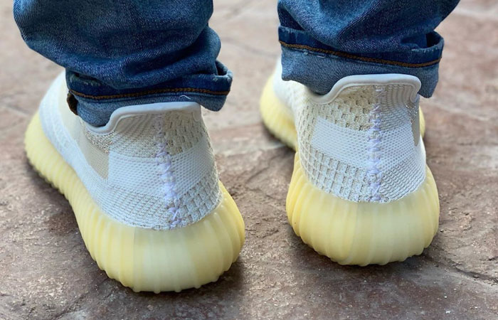 adidas Yeezy Boost 350 V2 Natural FZ5246 on foot 03