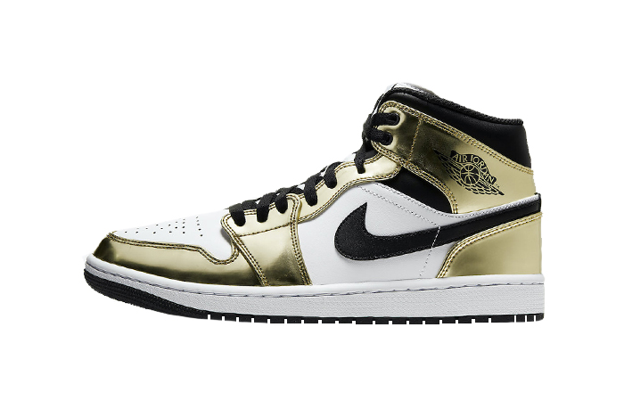 Air Jordan 1 Mid Special Edition Gold DC1419-700 01