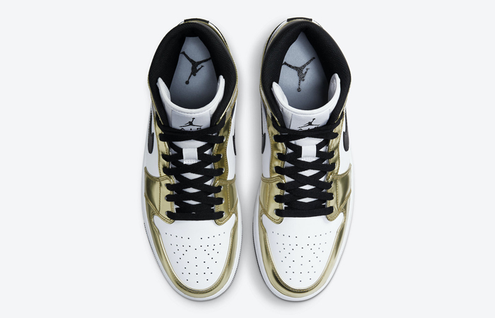 Air Jordan 1 Mid Special Edition Gold DC1419-700 04