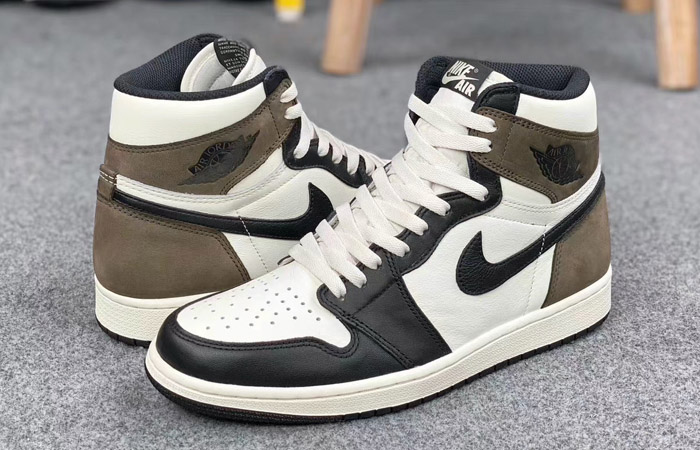 Air Jordan 1 Retro High Dark Mocha 555088-105 02