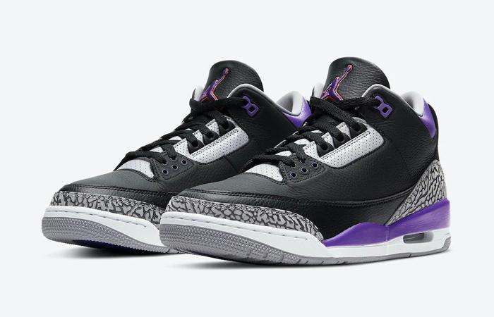 Air Jordan 3 Court Purple CT8532-050 02