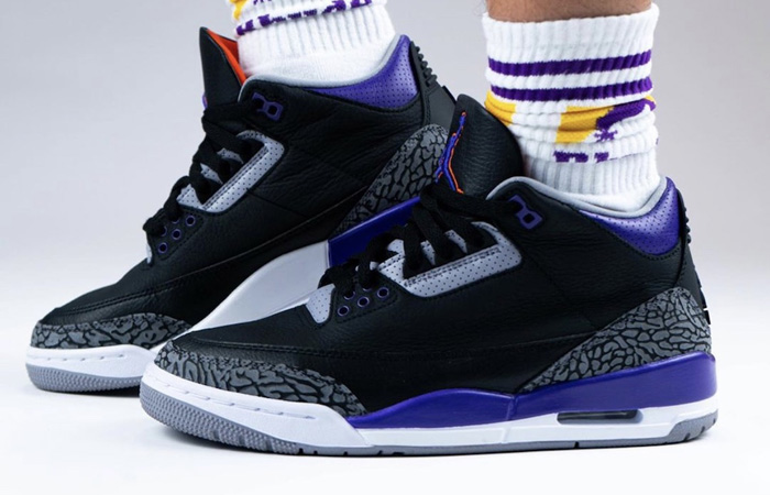 Air Jordan 3 Court Purple CT8532-050 on foot 01
