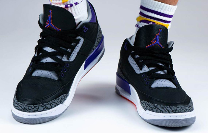 Air Jordan 3 Court Purple CT8532-050 on foot 02