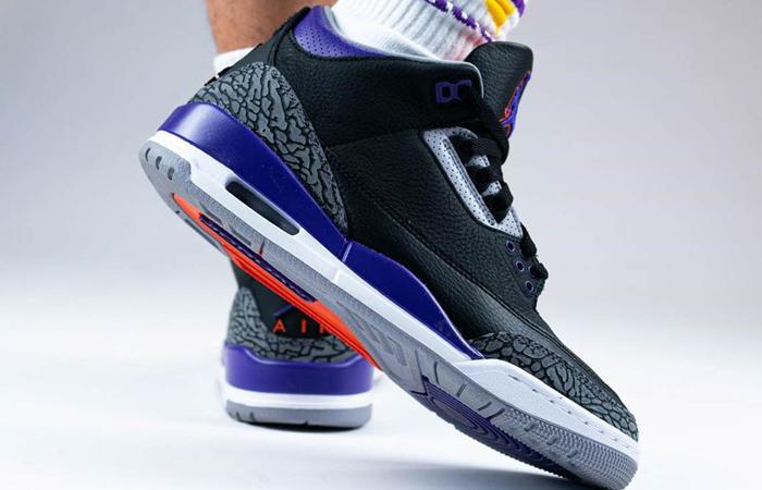 Air Jordan 3 Court Purple CT8532-050 on foot 03